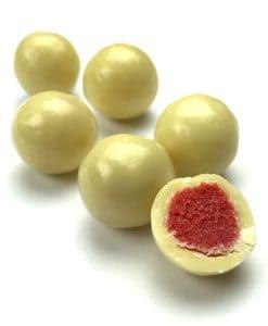 White Chocolate Strawberries