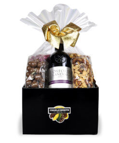 Sip 'n' Savour with Red Gift Basket