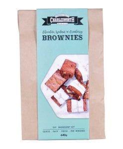 Chocolate, Walnut & Cranberry Brownies