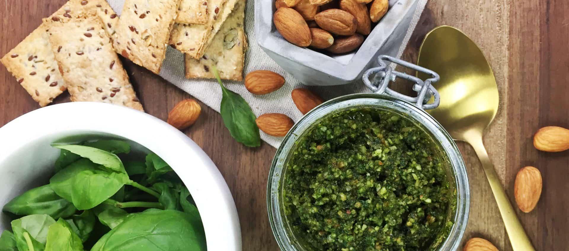 Basil and Almond Pesto