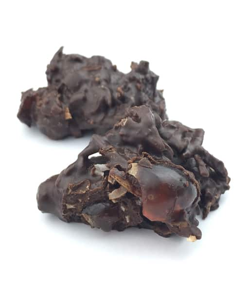 Dark Coconut Rough Clusters