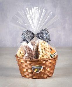 Naughty or nice gift basket