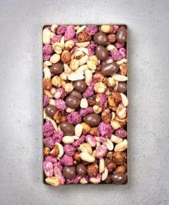 Premier Peanut Rectangle Gift Pack 300g Lid off