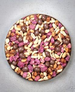 Premier Peanut mix gift pack lid off