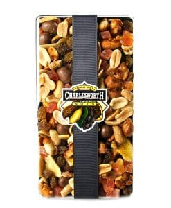 salted mixed nuts, salted cashews, salted macadamias, smoked almonds, salted pecans