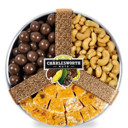 Choc, Nut 'n' Fruit Combo Gift Pack 580g
