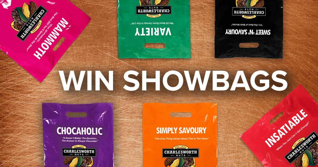 Win Showbags!